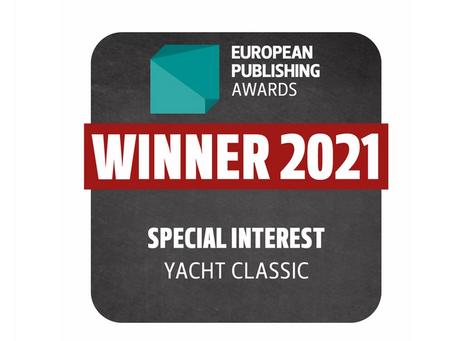 Yacht Classic gewinnt European Publishing Award 2021