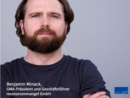 GWA-Präsident Benjamin Minack sieht Editorial Media als wichtige Kommunikationsplattform im Media-Mi