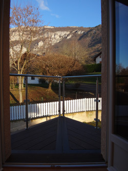 Balcon de la chambre romantique