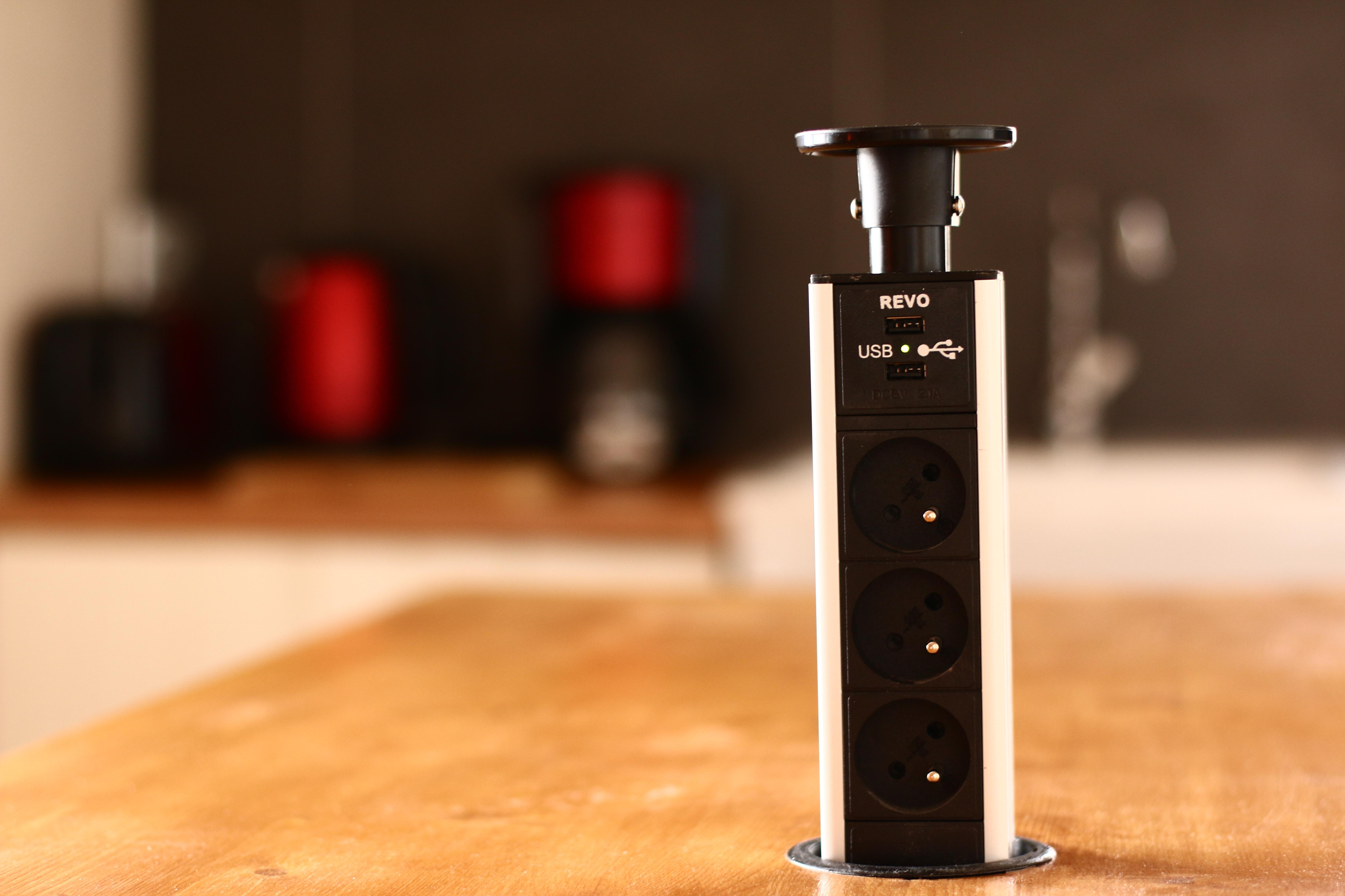 Prises et chargeur USB
