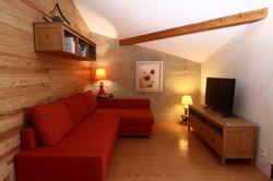 Salon cosy - grand écran TV