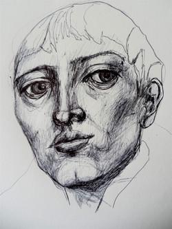 Portrait, junger Mann