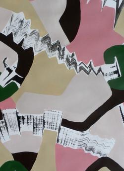 Fläche und Raum 14 (Detail)