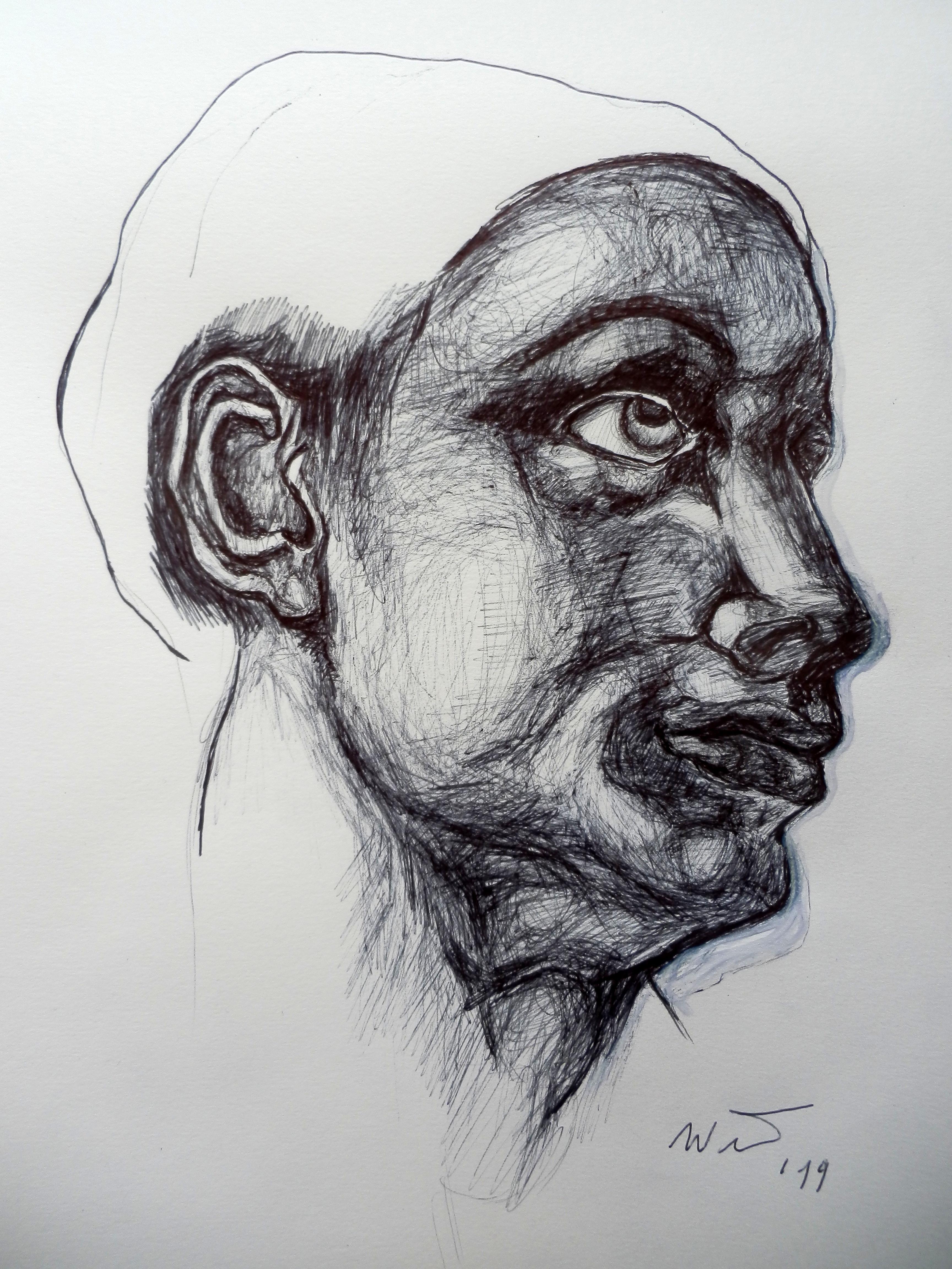 Portrait nach klassischem Vorbild