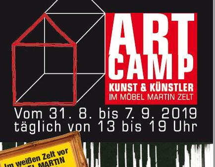 """ARTCAMP """"Kunst und Künstler im Zelt"""""""