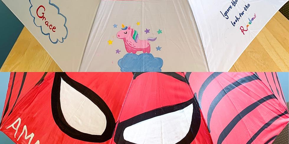 Umbrella Painting - Spiderman & Unicorns - 4pm