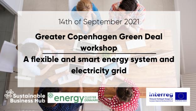 Greater Copenhagen Green Deal-workshop: Ett flexibelt och smart energisystem i staden