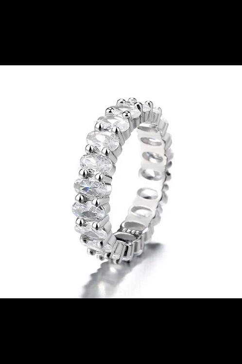Princess Statement Heart Ring