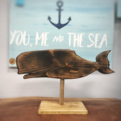 You me & the sea ⚓️ in a whaley good moo
