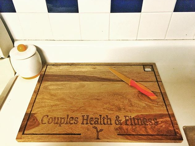 Not just another #handmade #CuttingBoard.._edited