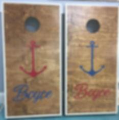 Cornhole boards for dayzzzzzz!! Custom a