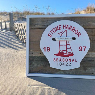 1997 Stone Harbor Beach Tag! #Stoneharbo