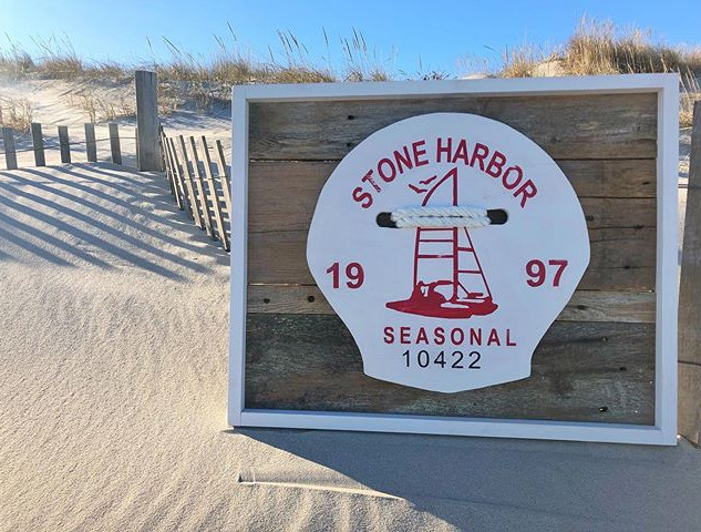 1997 Stone Harbor Beach Tag! #Stoneharbo