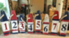 Oh Buoy! Nautical themed #TableNumbers f