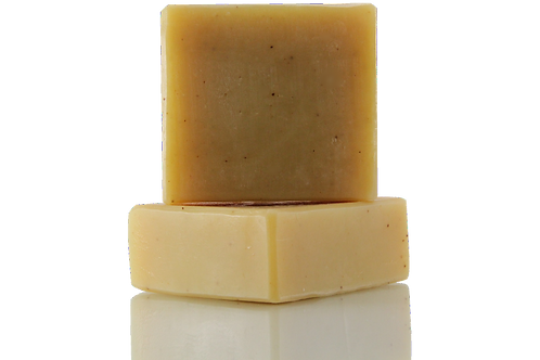 Handmade Soap | Natural | Lemongrass & Turmeric | Front View | Nature Bathing | India