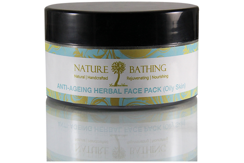 ANTI-AGEING HERBAL FACE PACK - OILY SKIN