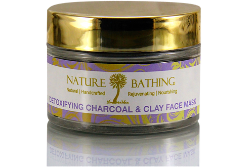 DETOXIFYING CHARCOAL & CLAY FACE MASK (Anti-Pollution)