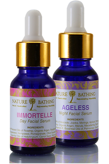 IMMORTELLE & AGELESS Day & Night Facial Regime