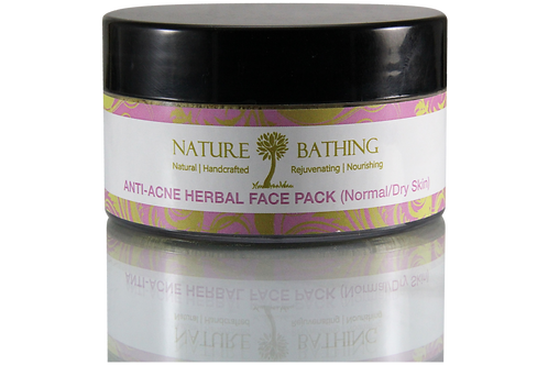ANTI ACNE HERBAL FACE PACK- NORMAL/DRY SKIN
