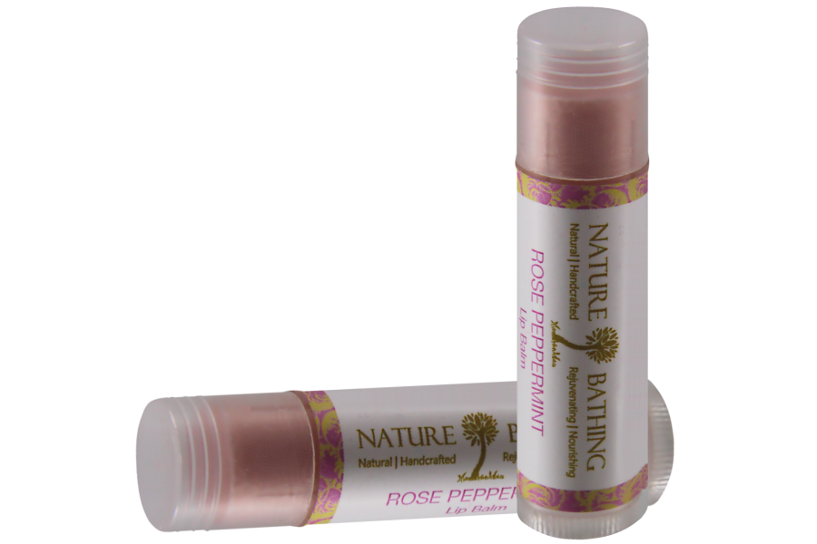 Rose Peppermint Lip Balm