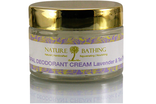 NATURAL DEODORANT CREAM Lavender & Tea Tree