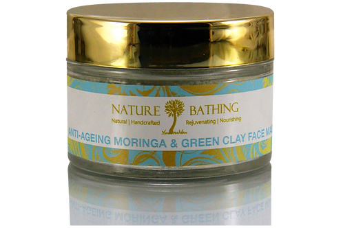 ANTI-AGEING MORINGA & GREEN CLAY FACE MASK