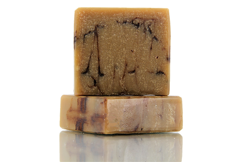 Handmade Soap | Natural | Sandalwood & Cow's Milk | Front View | Nature Bathing | India