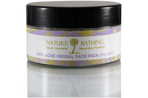 ANTI ACNE HERBAL FACE PACK - OILY SKIN