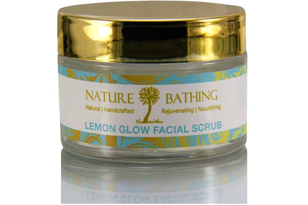 Lemon Glow Facial Scrub