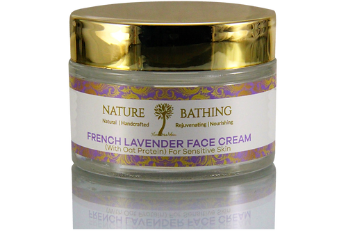 FRENCH LAVENDER FACE CREAM For Sensitive Skin
