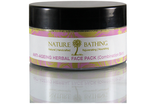 ANTI-AGEING HERBAL FACE PACK - COMBINATION SKIN