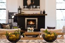 Barefoot at Broke - Fireplace