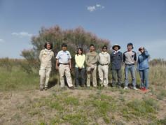 Field research in Loess Plateau 1
