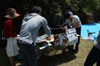 BBQ party of Department of Forest Science, Kyoto University
