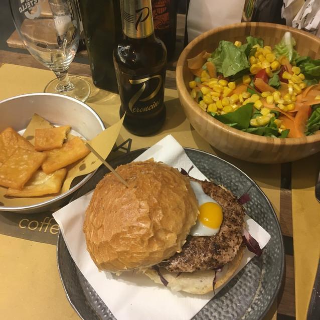 Burger à la truffe