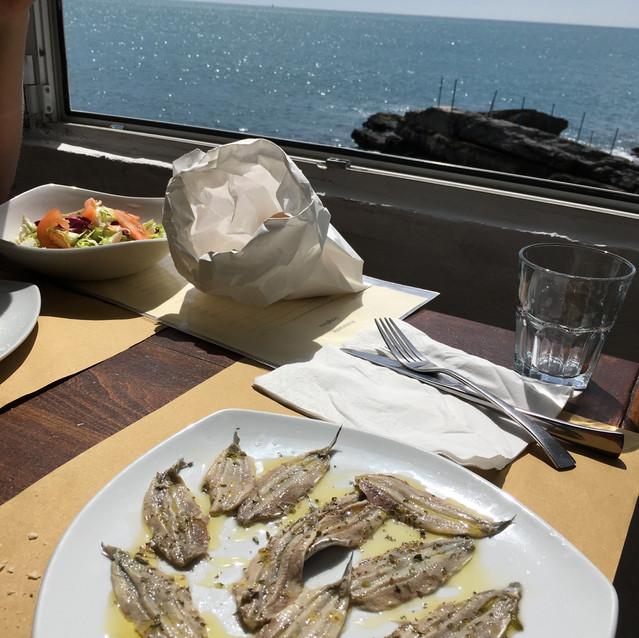 anchois marinés maison