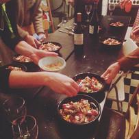 1er atelier sur _la cuisine saine et gou