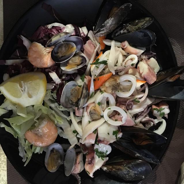 une salade de la mer
