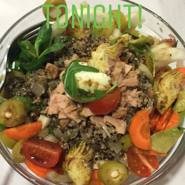 salade thon-quinoa