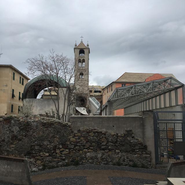 Eglise bombardée