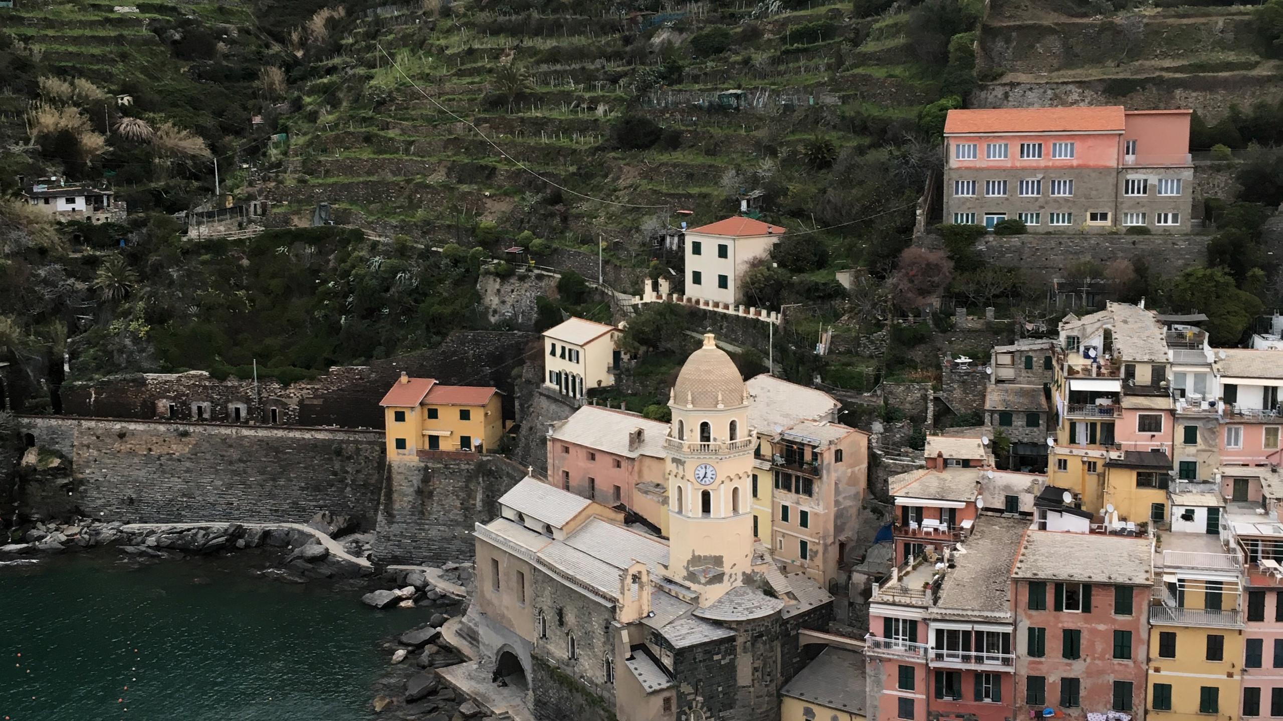 panorama depuis tour de Vernazza