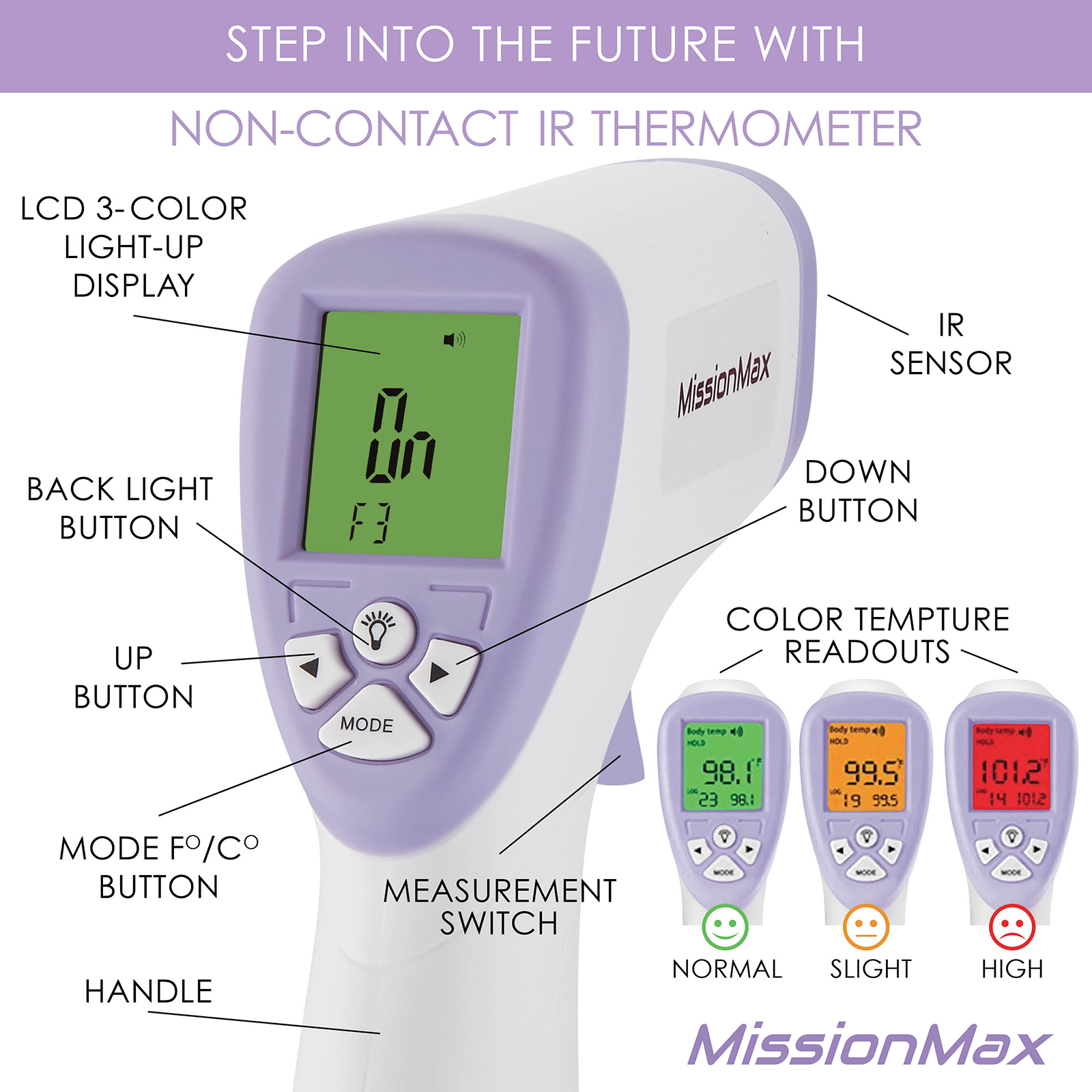 Thermometer MissionMax8