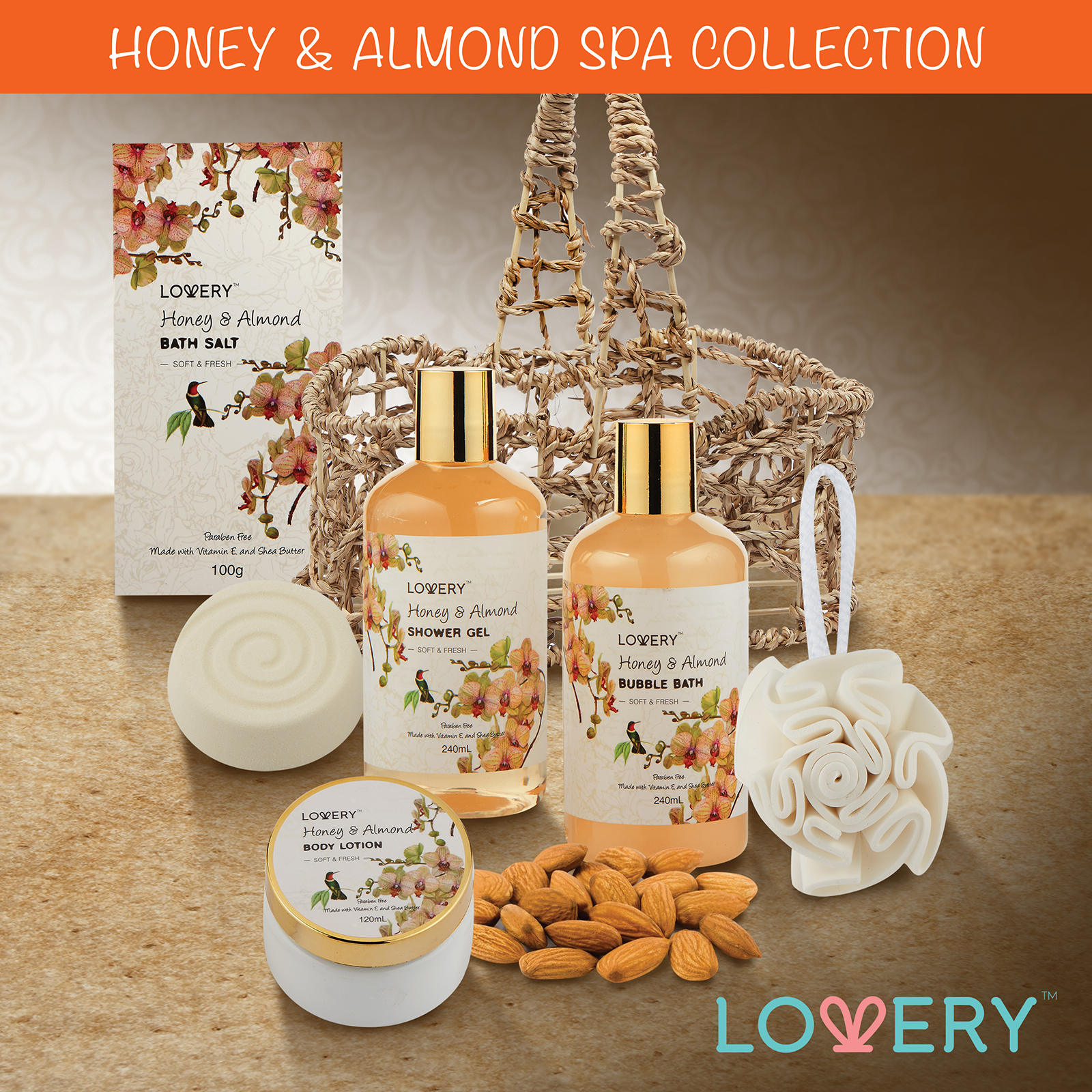 Honey Almond 2