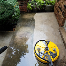 Concrete Cleaning and Sealing
