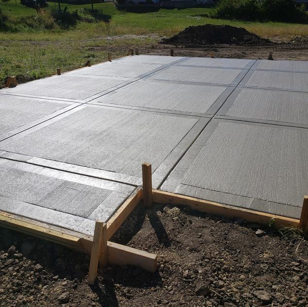 Concrete Patio, New Concrete, Concrete sealing