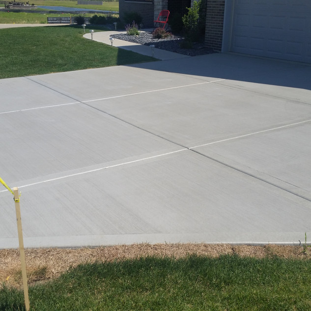 Concrete Patio, New Concrete, Concrete sealing