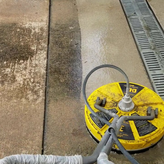Concrete Cleaning and Sealing.