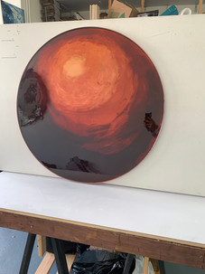 Red col Mirror / 2020