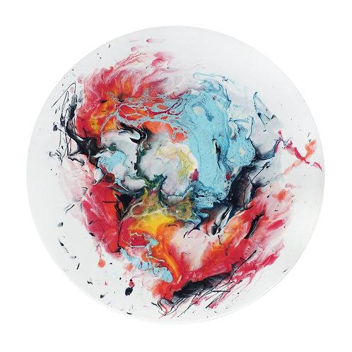 【絢爛光彩系列・月球體・手工掛牆裝飾】40cm