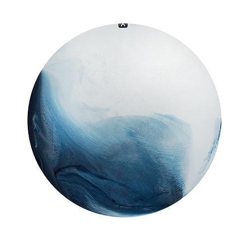 Wind and Wave 風 和 浪・月球體・手工掛牆裝飾30cm